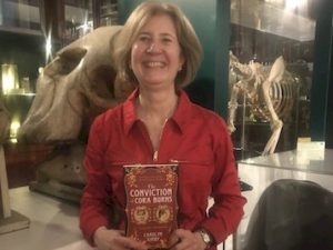 Carolyn Kirby and her novel The Conviction of Cora Burns