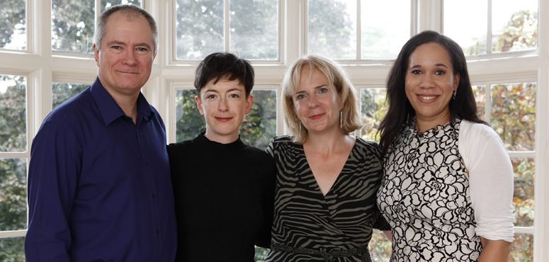 BPA First Novel Awards - Neil Daws, Katy McNair, Thecla Condon and Nelle Andrew