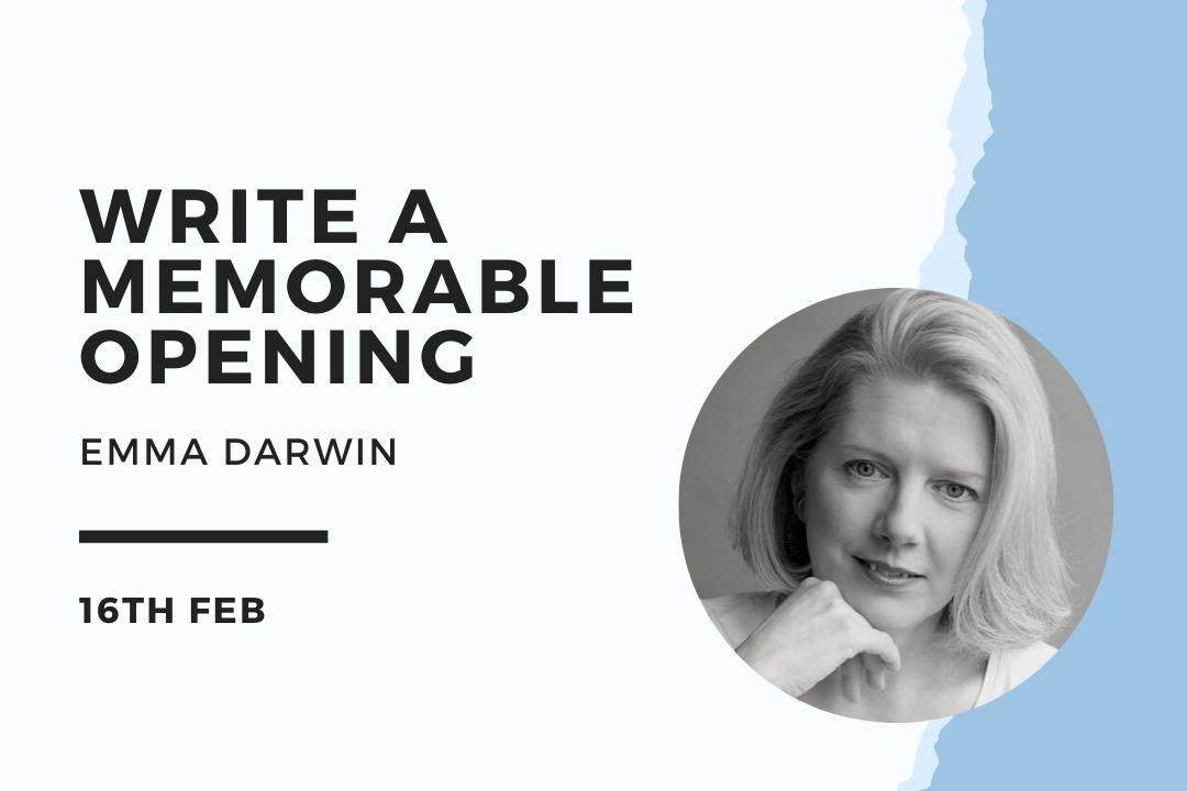 Emma Darwin –Blue Pencil Agency Online Events
