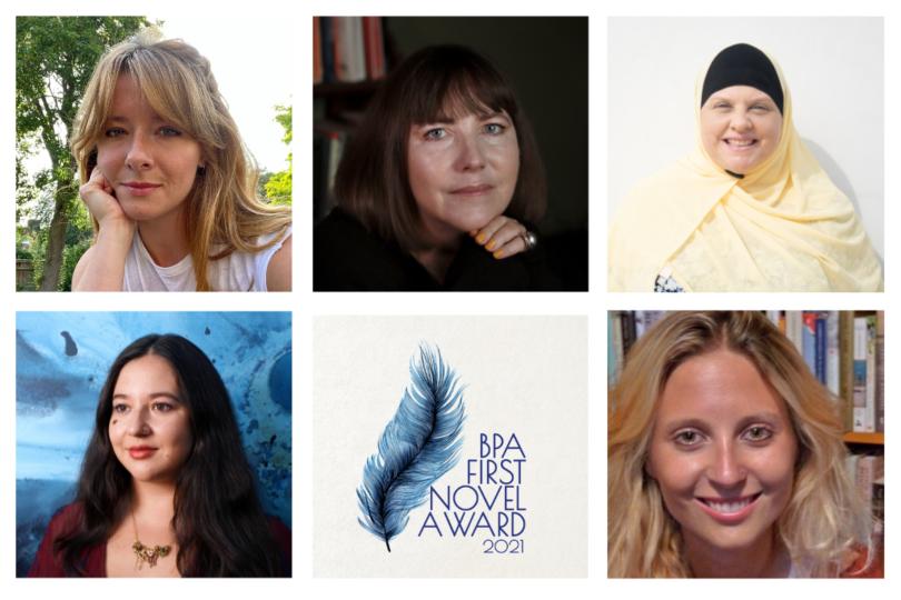 BPA First Novel Award – Hellie Ogden, Kiran Millwood-Hargrave, Julia Kelly, Anna Richmond, Loretta Chefchaouni